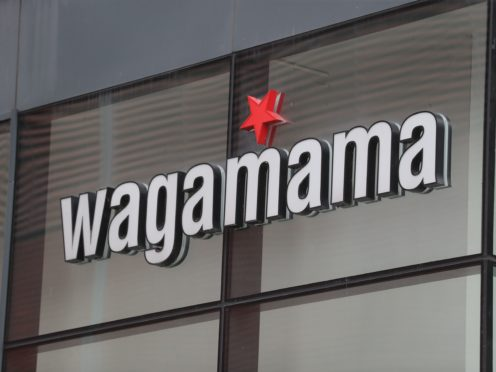 Wagamama owner The Restaurant Group (TRG) said it is burning through £5.5m each month its venues remain shut (Mike Egerton/PA)