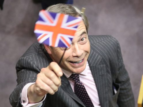 Nigel Farage is stepping away from active politics (Yui Mok/PA)