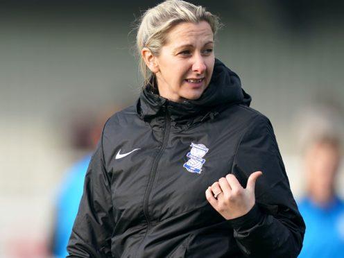 "Birmingham City manager Carla Ward says the new WSL broadcast deal is a ""landmark moment"" (John Walton/PA)"