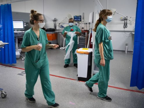Nurses deserve more pay, one has said, explaining it is an expanding role (Victoria Jones/PA)