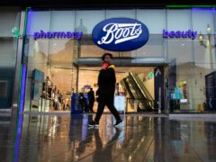 Boots has struggled to get feet through the door (David Parry/PA)
