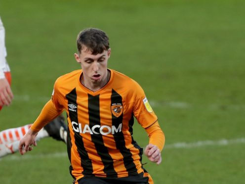 Gavin Whyte's brace sent Hull top (Richard Sellers/PA)