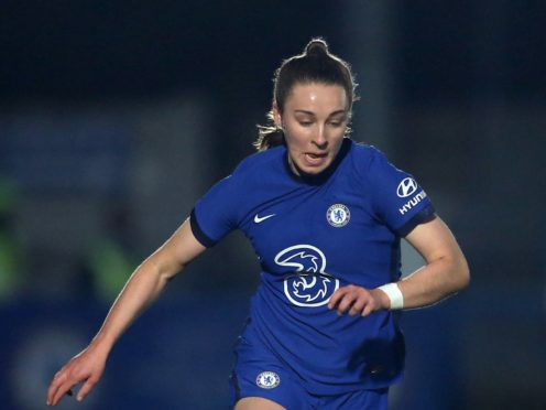 Chelsea manager Emma Hayes believes Niamh Charles (pictured) will play for England (Steven Paston/PA)