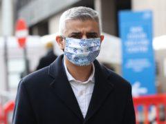 Mayor of London, Sadiq Khan (Yui Mok/PA)