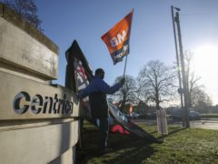 A fresh four-day strike is launched by British Gas engineers (Steve Parsons/PA)