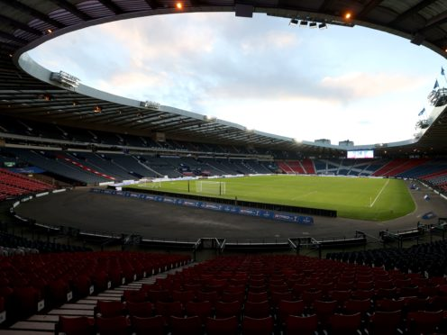 Hampden Park in Glasgow is due to stage four matches at this summer's Euro 2020 finals (PA)