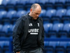 Preston manager Alex Neil saw his side beaten at home by Luton (Barrington Coombs/PA)