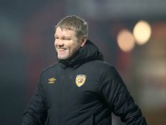 Hull manager Grant McCann is taking it one game at a time (Martin Rickett/PA)