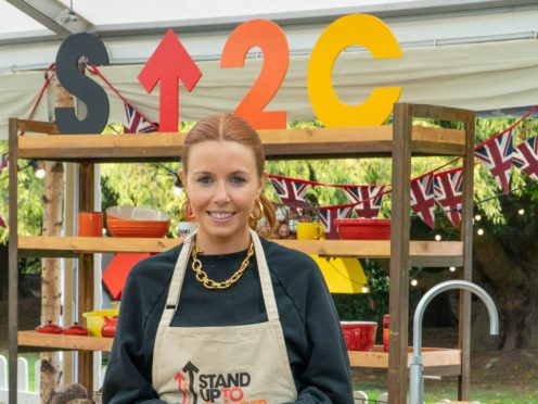 Stacey Dooley describes herself as 'massively inexperienced' at baking (C4/Love Productions/Mark Bourdillon/PA)