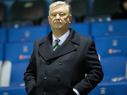 Celtic chief executive Peter Lawwell is to step down this summer (Jeff Holmes/PA)