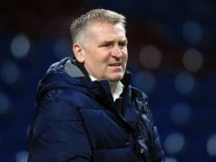 Aston Villa manager Dean Smith is wary of Tottenham (Lindsey Parnaby/PA)