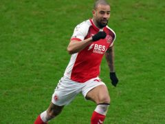 Kyle Vassell gave Fleetwood an early lead against Gillingham (Tess Derry/PA)