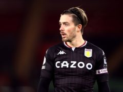 Jack Grealish has missed Aston Villa's last two matches (Naomi Baker/PA).