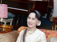 Aung San Suu Kyi, Myanmar's civilian leader, was arrested as part of a military coup in February (John Stilwell/PA)