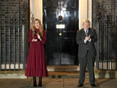 Carrie Symonds and Boris Johnson (Jonathan Brady/PA)