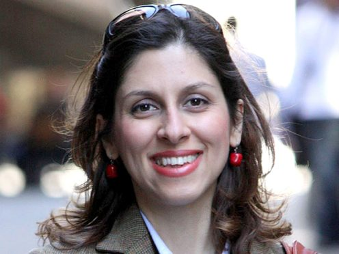 Nazanin Zaghari-Ratcliffe has had her ankle tag removed but still has to appear before an Iranian court, according to her MP, Tulip Siddiq (Family Handout/PA)