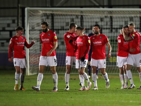 Salford have not lost at home in Sky Bet League Two this season (Simon Marper/PA)