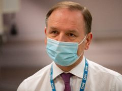 Chief executive of the National Health Service in England, Sir Simon Stevens (Jacob King/PA)