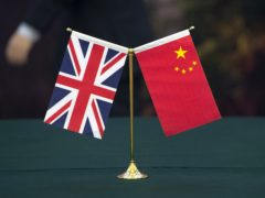 China has retaliated after the UK and its allies applied sanctions over human rights abuses in Xinjiang (Arthur Edwards/The Sun)