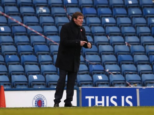 Kilmarnock manager Tommy Wright believes securing survival will be up there with his biggest achievements (Andrew Milligan/PA)