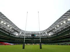 Ireland and England clash behind closed doors at the Aviva Stadium, Brian Lawless/PA