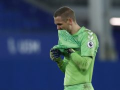 Everton goalkeeper Robin Olsen and his family were the victims of an armed robbery at the weekend (Jason Cairnduff/PA)