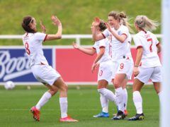 England Women played their first international in almost a year when they beat Northern Ireland 6-0 last month (Handout/FA/PA).