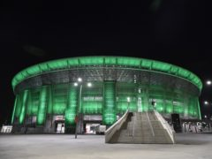 Manchester City will return to the Puskas Arena in Budapest for the second leg of their Champions League tie against Borussia Monchengladbach (PA/DPA)