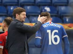 Rangers manager Steven Gerrard says Nathan Patterson is a future Scotland international (Andrew Milligan/PA)