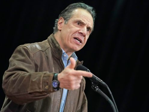 Andrew Cuomo has vowed to stay in office (Seth Wenig/AP)