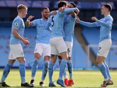Leaders Manchester City are chasing a 15th successive Premier League win (Clive Brunskill/PA)