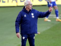 Mick McCarthy remains unbeaten since taking over at Cardiff (Richard Sellers/PA)