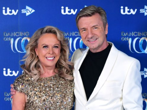 Judges Jayne Torvill and Christopher Dean (Ian West/PA)