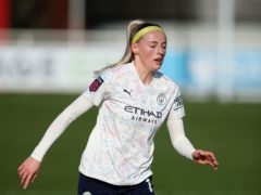 Chloe Kelly missed a penalty for Manchester City (Nick Potts/PA)