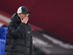 Liverpool manager Jurgen Klopp says he is under no additional pressure to qualify for the Champions League (Oli Scarff/PA)