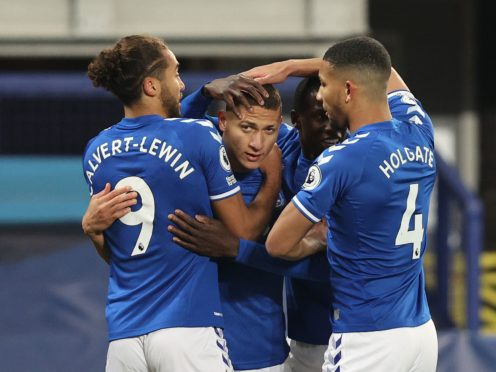 Richarlison scored for the third-successive match inside the first 10 minutes (Clive Brunskill/PA)