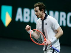Andy Murray, pictured, beat Robin Haase in Rotterdam (Peter Dejong/AP)