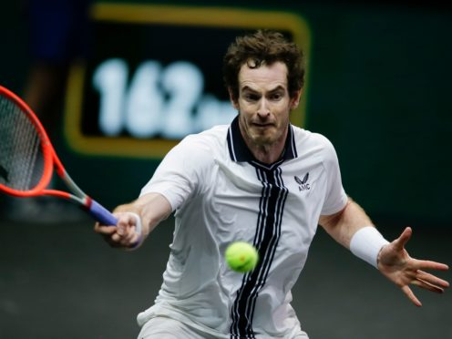 Andy Murray (pictured) beat Robin Haase in just over two-and-a-half hours (Peter Dejong/AP)