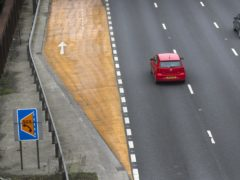 A woman whose husband was killed on a smart motorway has issued a furious response to a 'silly' safety campaign (Steve Parsons/PA)