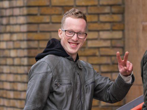 Jordy Nicholas Van Duijvenbode arrives at Thames Magistrates' Court (Dominic Lipinski/PA)