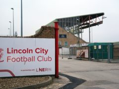 Lincoln have closed their training facilities (Zac Goodwin/PA)