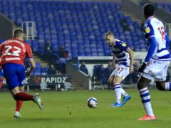 George Puscas sealed Reading's win over Blackburn with the only goal (Adam Davy/PA)