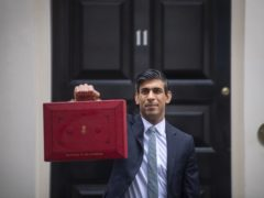 Chancellor Rishi Sunak was answering questions from MPs on the Budget unveiled last week (Victoria Jones / PA)