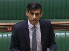 Rishi Sunak delivering his Budget (House of Commons)