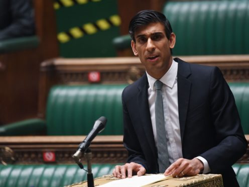 Chancellor of the Exchequer Rishi Sunak delivering his Budget to the House of Commons (UK Parliament/Jessica Taylor)