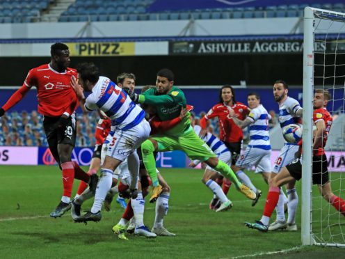 Daryl Dike opened the scoring for Barnsley at QPR (Adam Davy/PA)