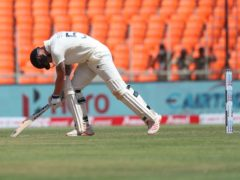 Ben Stokes was the fifth wicket to fall (AP Photo/Aijaz Rahi)
