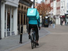 Deliveroo said it will be valued at £7.6 billion in its London listing (David Davies/PA)