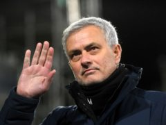 Jose Mourinho (pictured) wants to end a special year for him and Daniel Levy with a trophy (Neil Hall/PA)