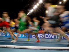 The British team from the European Indoor Championships in Torun have been forced to self-isolate (Darko Vojinovic/AP)
